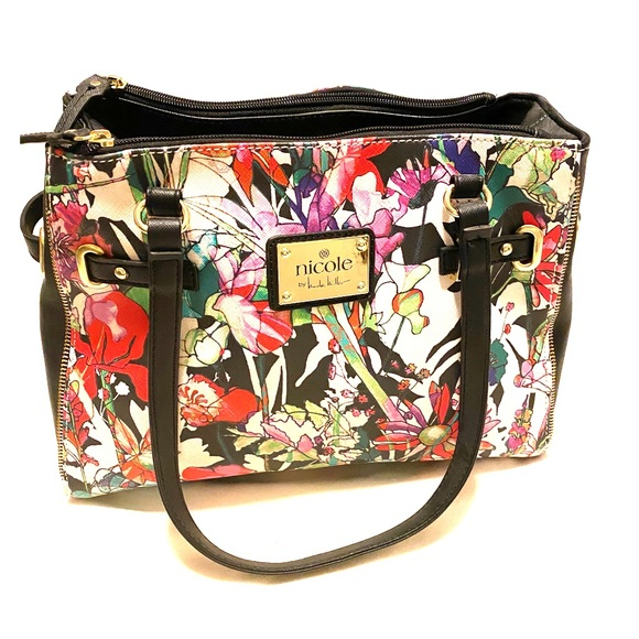 Nicole by Nicole Miller Handbags - Floral purse by Nicole. NWOT.